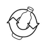 Logo verre recyclable